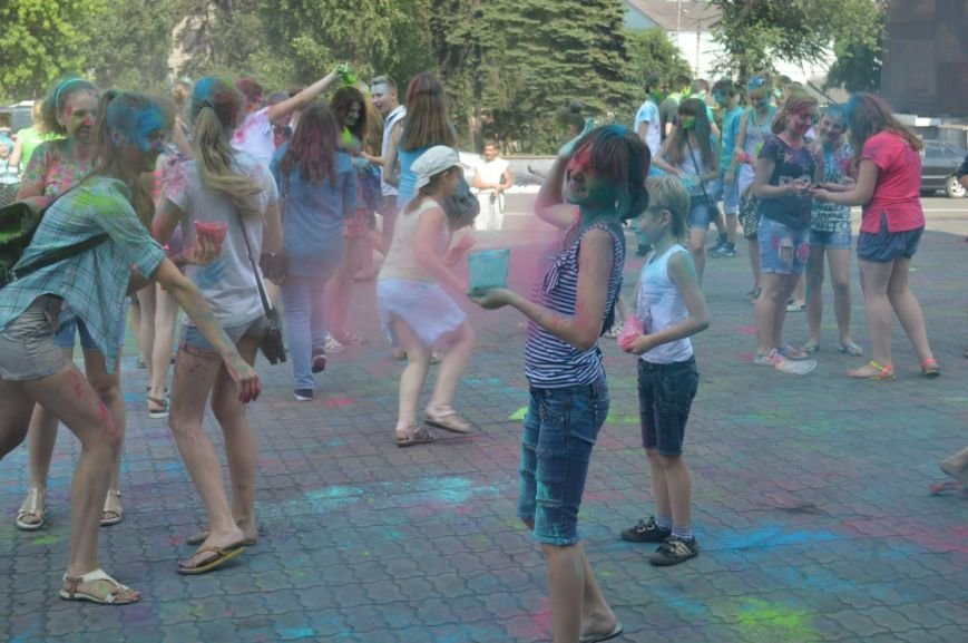 Фестиваль красок в нашем городе (фоторепортаж), фото-1