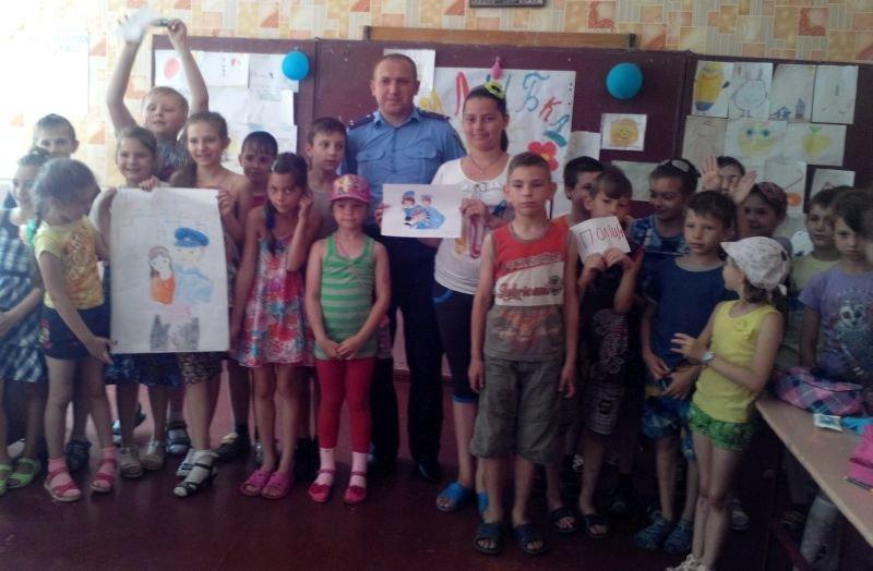 В Краматорске полицейские встретились с детьми, фото-3