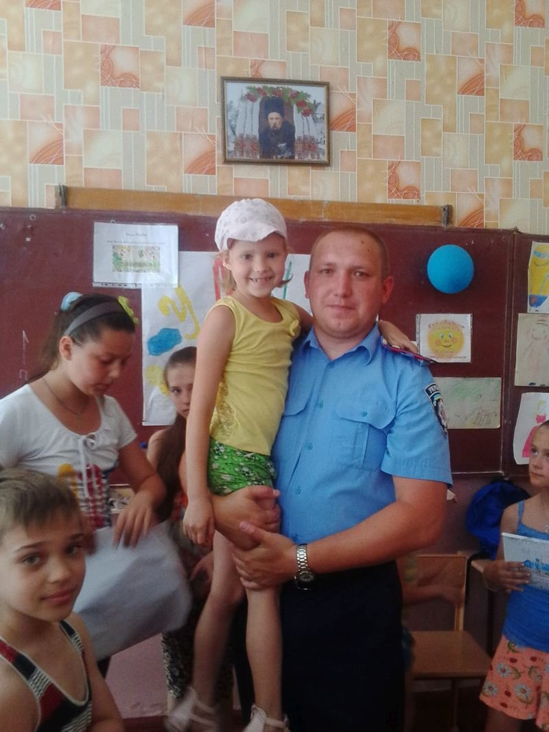 В Краматорске полицейские встретились с детьми, фото-2