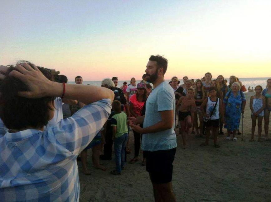 """В последний день в Скадовске """"Ревизор"""" инспектировал местные пляжи (фото), фото-1"""