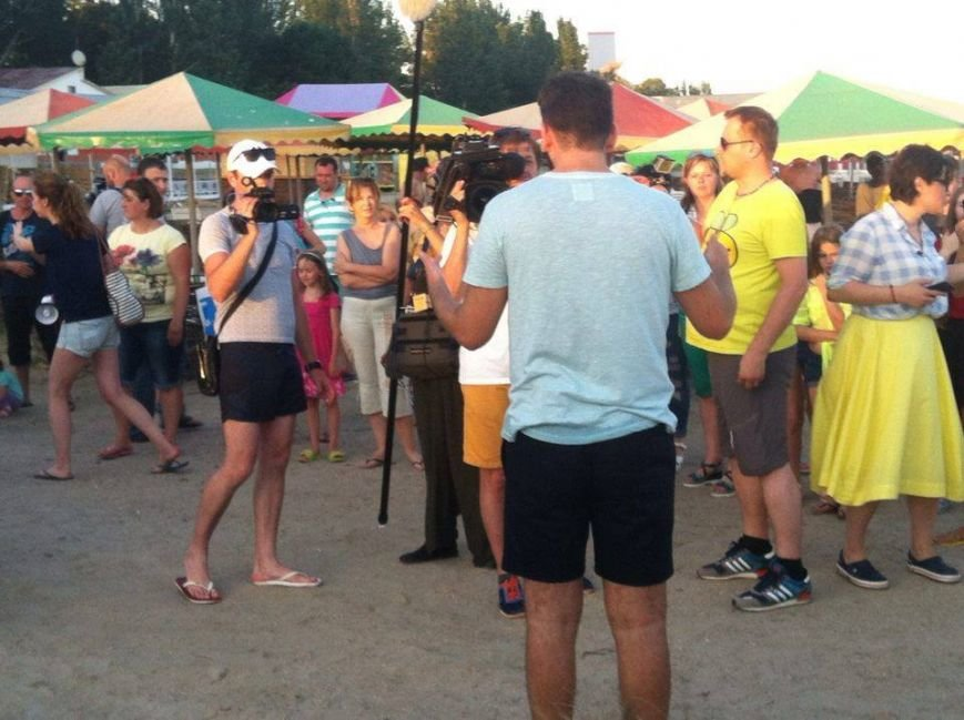 """В последний день в Скадовске """"Ревизор"""" инспектировал местные пляжи (фото), фото-2"""