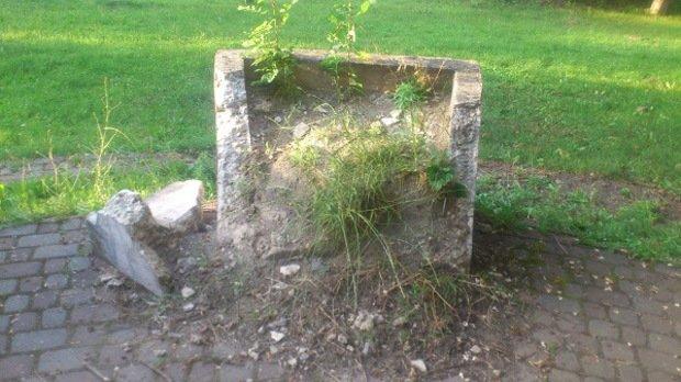 У центрі Ужгорода занепадає відомий парк: фото, фото-1