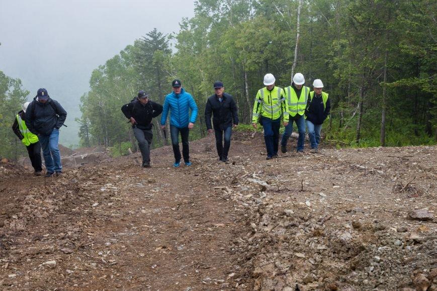 В Южно-Сахалинске на СТК «Горный воздух» началось строительство новых подъёмников, фото-3