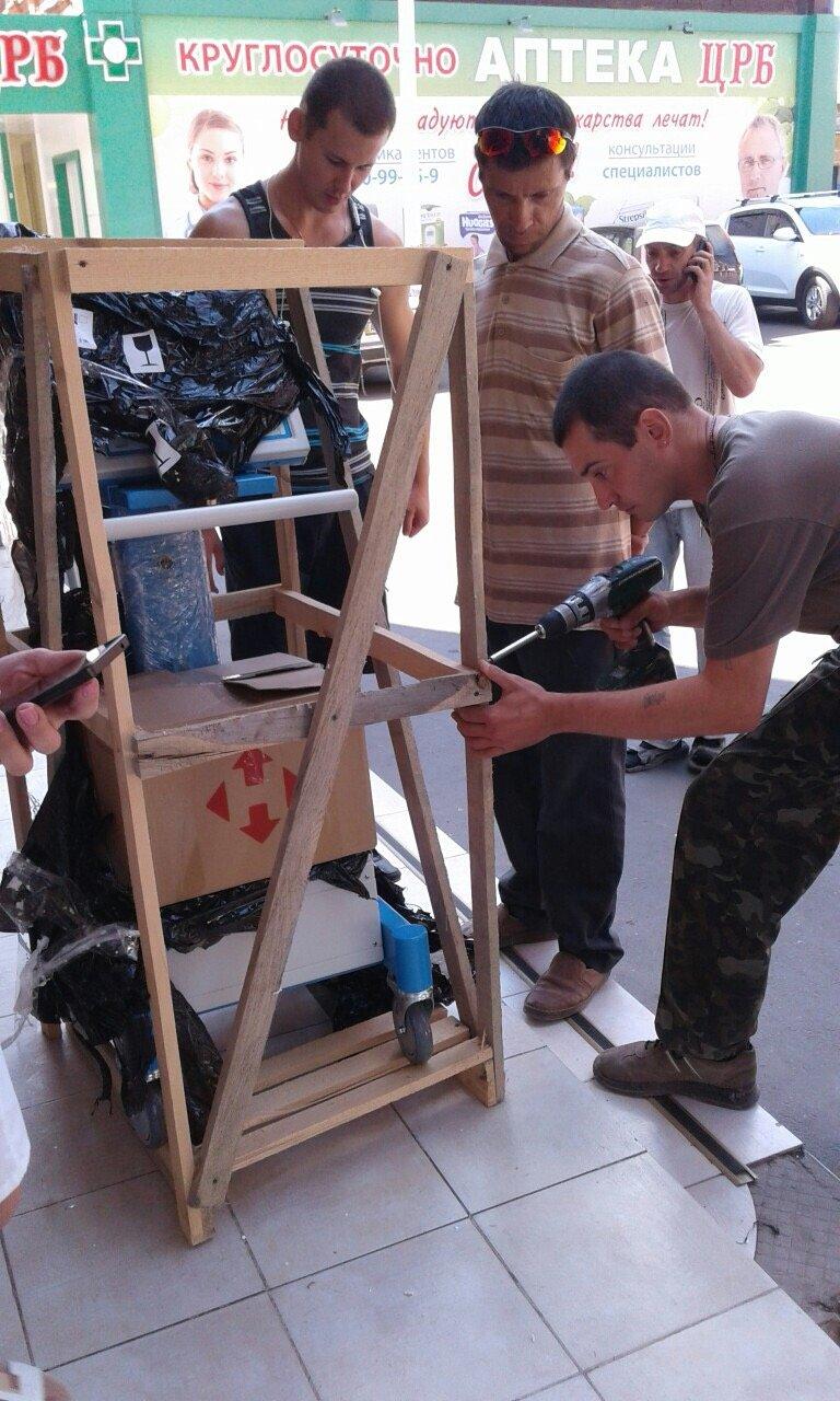 В Бахмутскую больницу привезли аппарат ИВЛ, фото-1