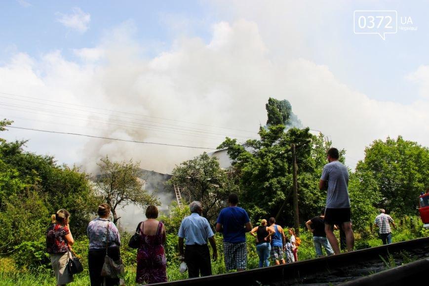 """Позаду приміщення """"Чернівцігаз"""" спалахнула масштабна пожежа(ФОТО), фото-11"""