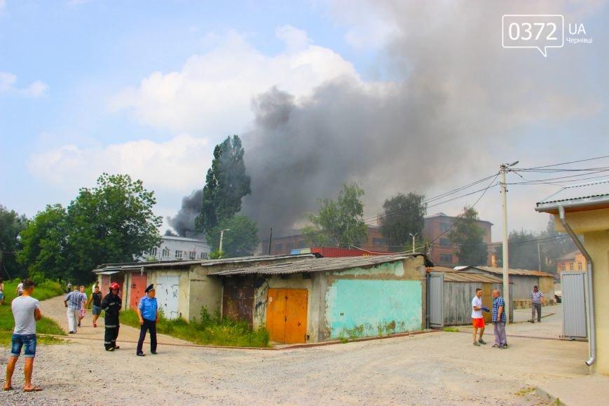 """Позаду приміщення """"Чернівцігаз"""" спалахнула масштабна пожежа(ФОТО), фото-1"""