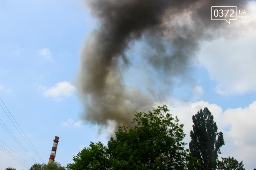 """Позаду приміщення """"Чернівцігаз"""" спалахнула масштабна пожежа(ФОТО), фото-2"""