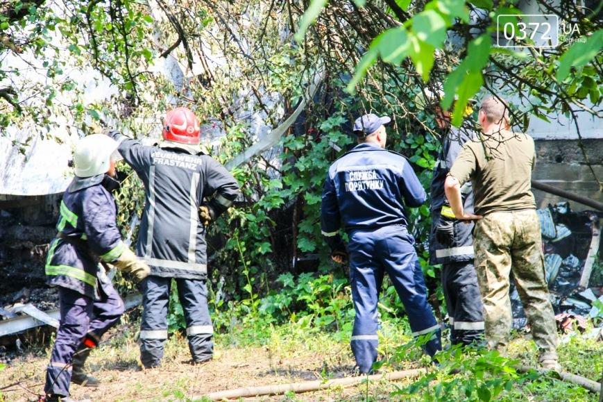 """Позаду приміщення """"Чернівцігаз"""" спалахнула масштабна пожежа(ФОТО), фото-8"""