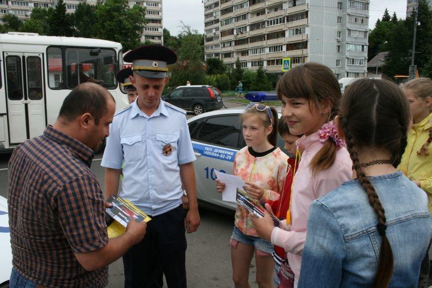 """В Троицке прошёл полицейский рейд """"Маленький пешеход"""", фото-5"""