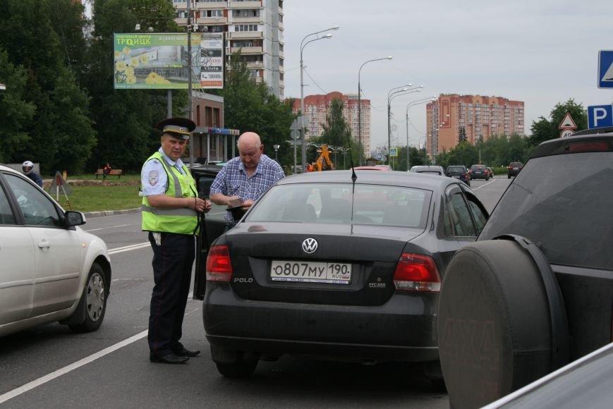 """В Троицке прошёл полицейский рейд """"Маленький пешеход"""", фото-2"""