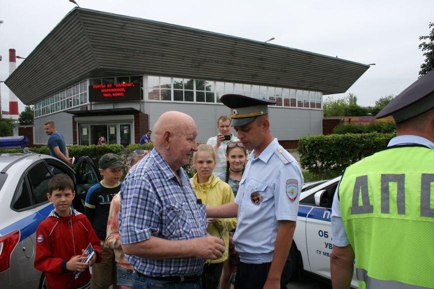 """В Троицке прошёл полицейский рейд """"Маленький пешеход"""", фото-3"""