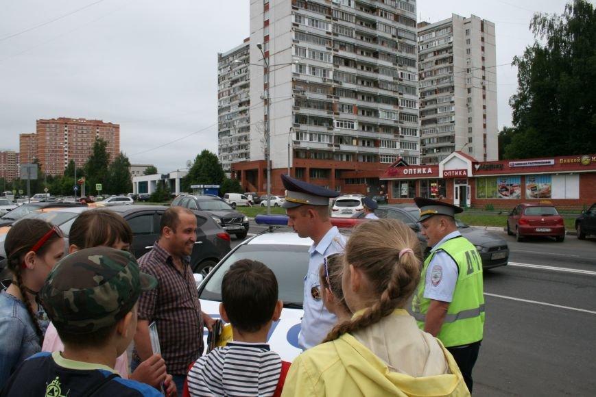 """В Троицке прошёл полицейский рейд """"Маленький пешеход"""", фото-6"""