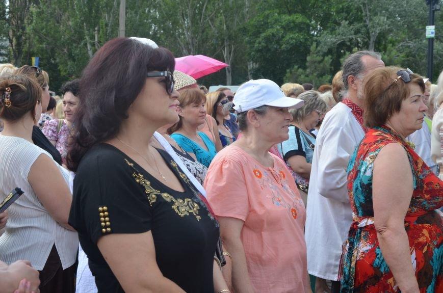 В Мариуполе скромно отмечают День Конституции Украины (ФОТО+ВИДЕО), фото-4