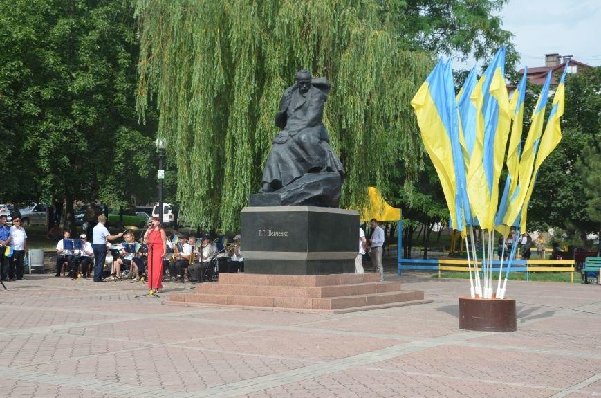 В Мариуполе скромно отмечают День Конституции Украины (ФОТО+ВИДЕО), фото-7
