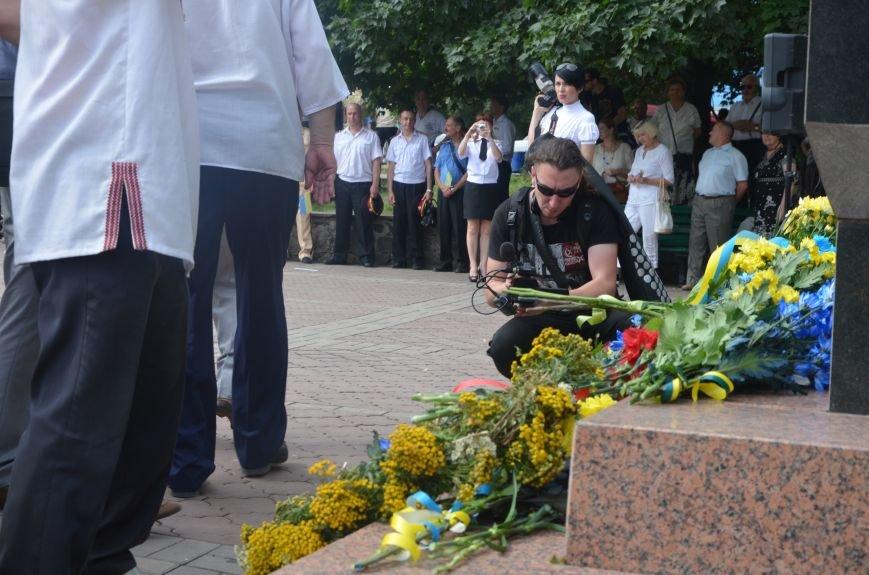 В Мариуполе скромно отмечают День Конституции Украины (ФОТО+ВИДЕО), фото-12