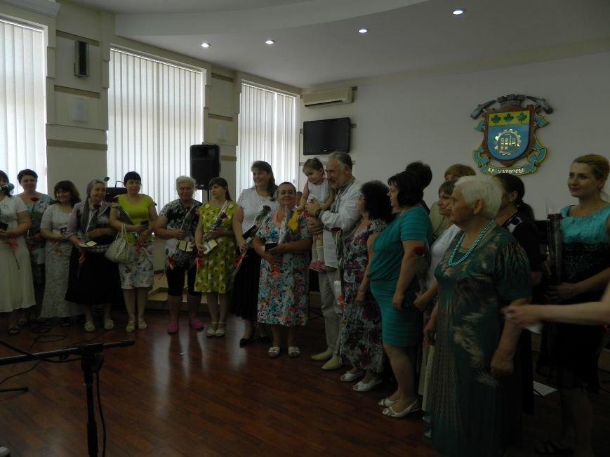 В Краматорске наградили матерей, фото-4