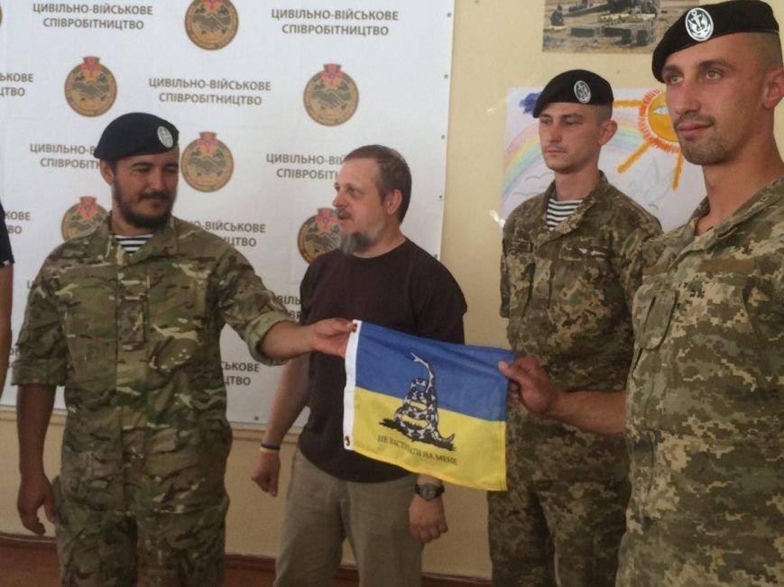 В Мариуполе  блоггер Serg Marco презентовал книгу о гибридной войне в Украине(ФОТО, ВИДЕО), фото-2