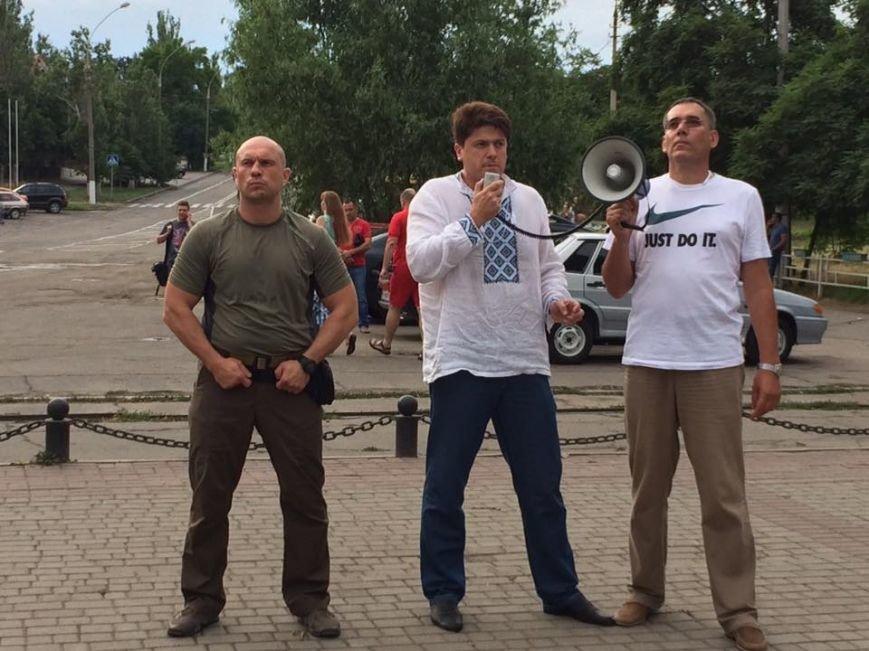 «Нет разврату, да семье»: в Херсоне начался марш  «За традиционные украинские ценности» с Ильей Кивой во главе (фото), фото-1