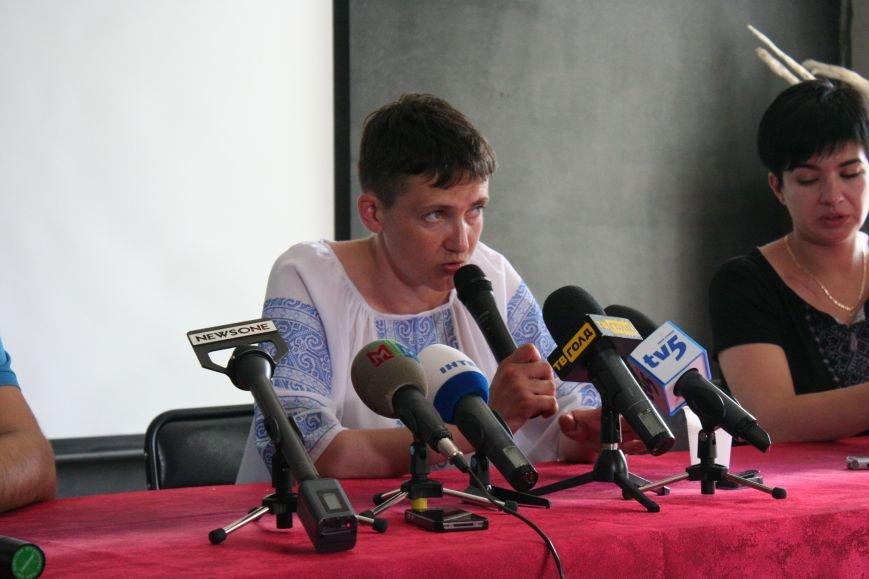 О чем говорила Надежда Савченко в Запорожье, - полное видео пресс-конференции, фото-1