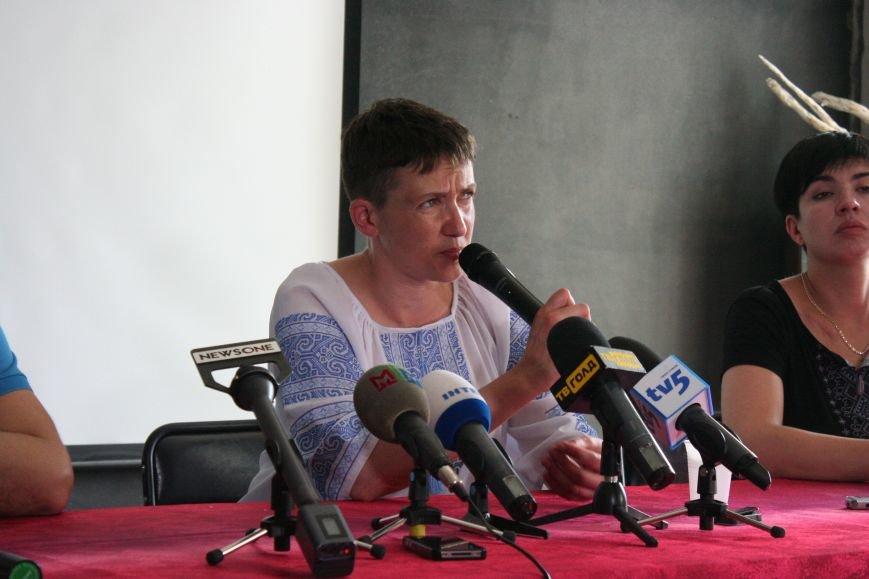 О чем говорила Надежда Савченко в Запорожье, - полное видео пресс-конференции, фото-2