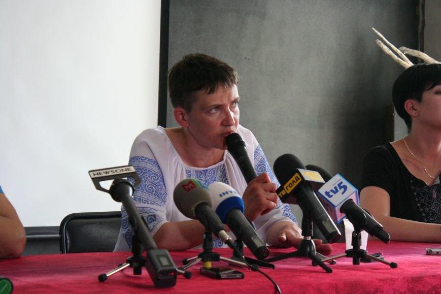 О чем говорила Надежда Савченко в Запорожье, - полное видео пресс-конференции, фото-4