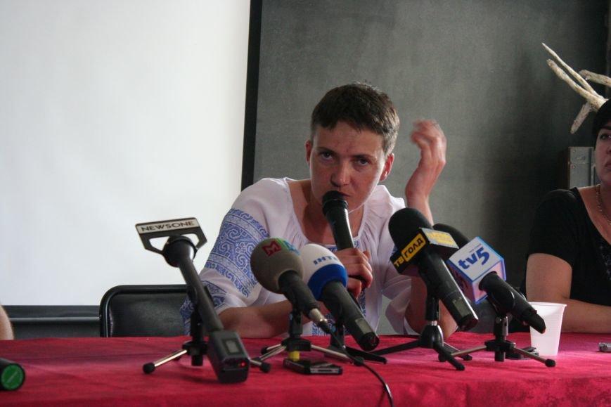 О чем говорила Надежда Савченко в Запорожье, - полное видео пресс-конференции, фото-6