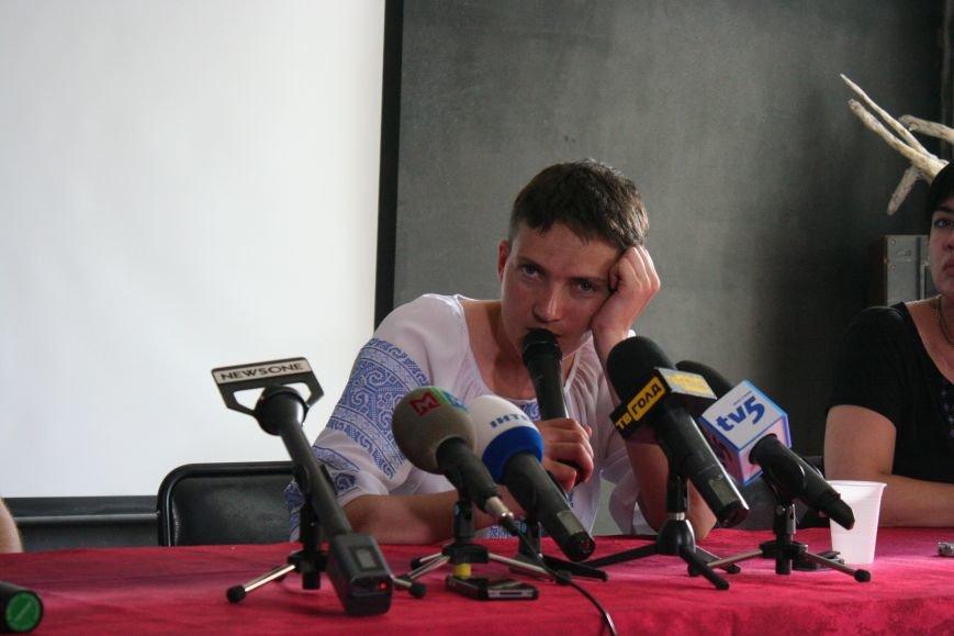 О чем говорила Надежда Савченко в Запорожье, - полное видео пресс-конференции, фото-5