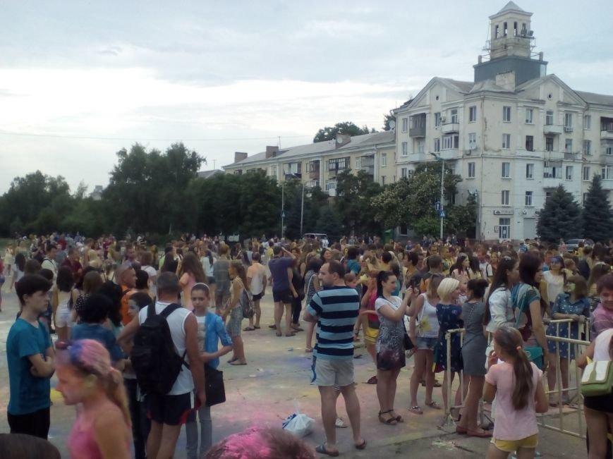 В Краматорске прошел фестиваль красок, фото-3