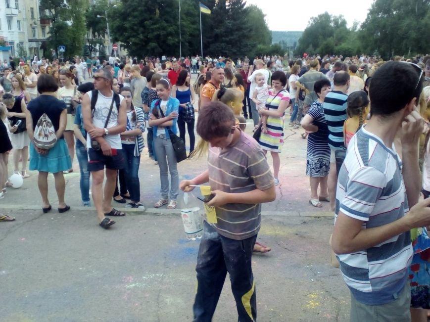 В Краматорске прошел фестиваль красок, фото-6