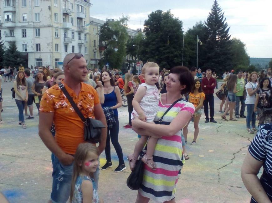 В Краматорске прошел фестиваль красок, фото-2