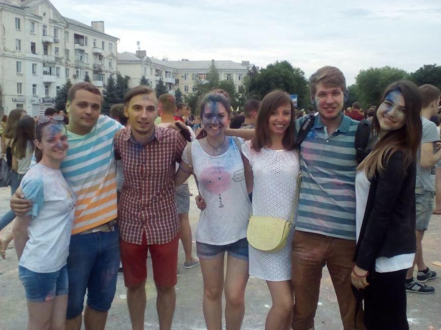 В Краматорске прошел фестиваль красок, фото-1