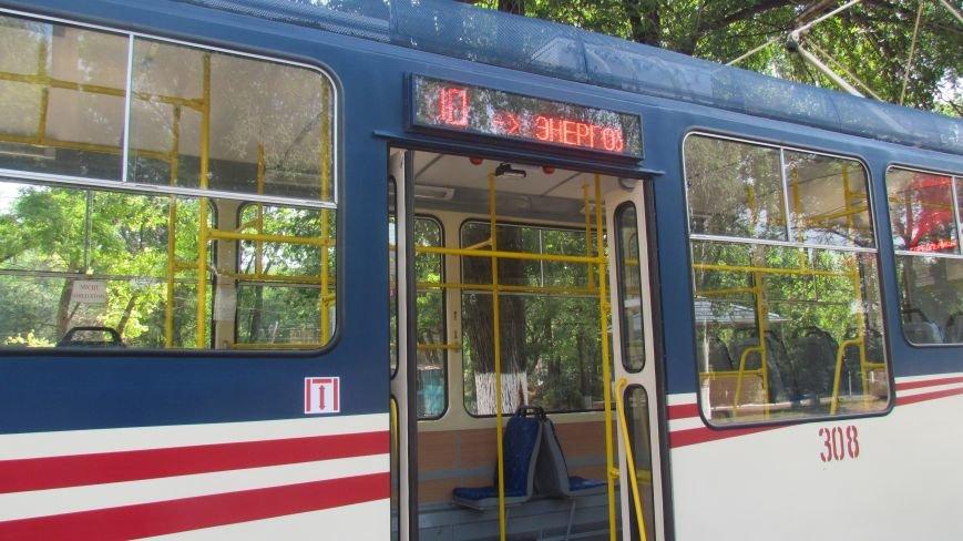 Мэр Мариуполя покатался на новом трамвае (ФОТО), фото-3