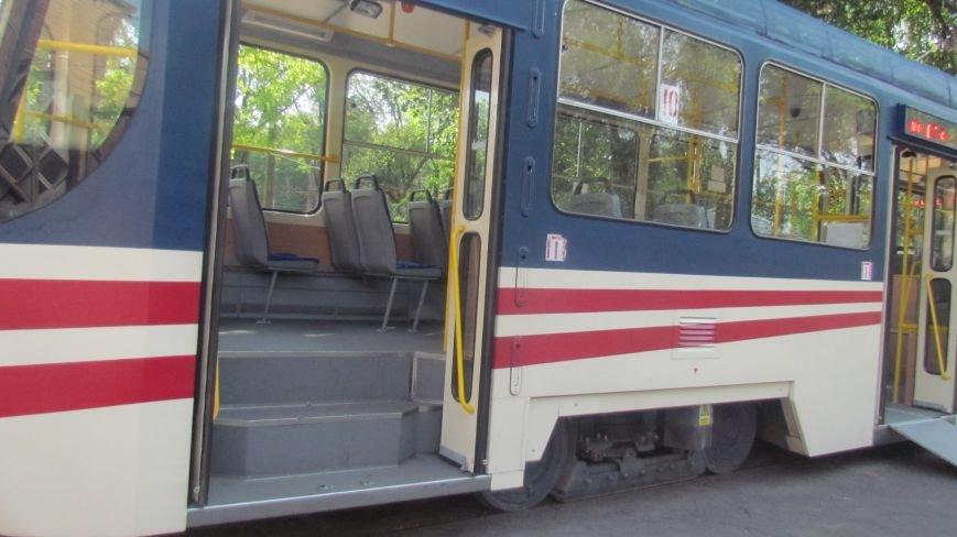 Мэр Мариуполя покатался на новом трамвае (ФОТО), фото-4