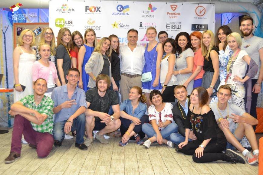 Игорь Добруцкий и студенты