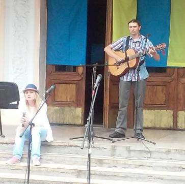 В Конотопі пройшов перший концерт вуличної музики  «Арт - music in our life», фото-2