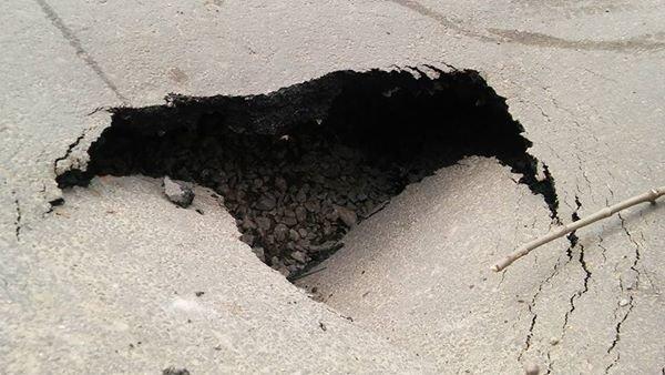 У Чернівцях провалилася дорога (ФОТО), фото-2