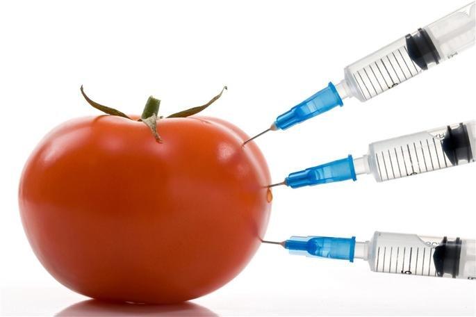 Овощи в пестицидах