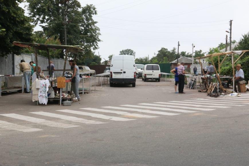 Социальный рынок-парковка на ул. Ремемесленной