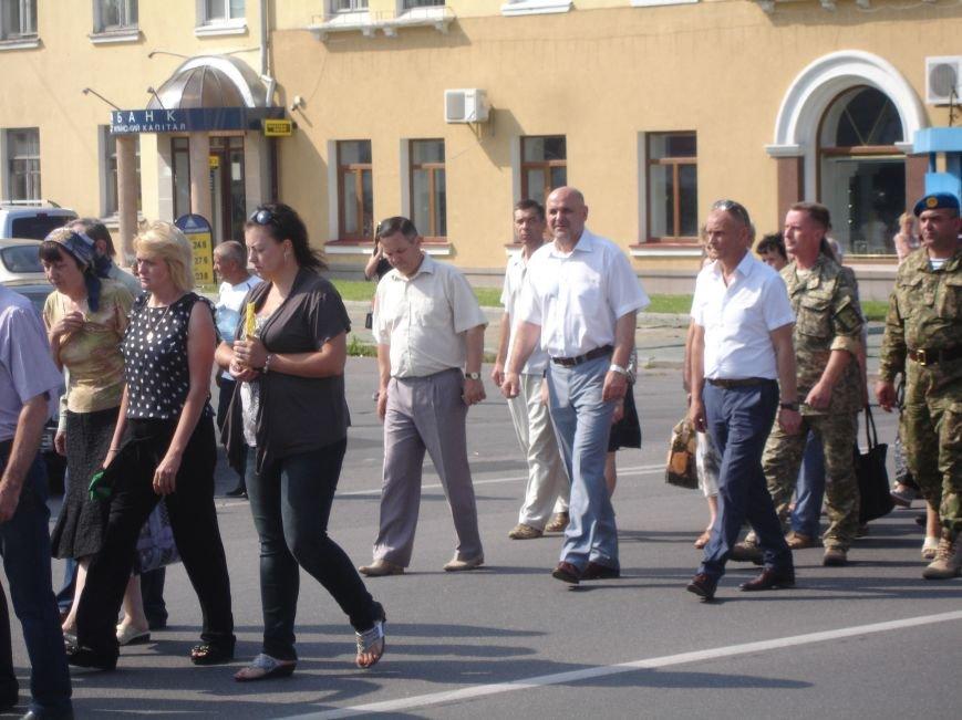 ФОТО: Біла Церква прощалася з героєм АТО, фото-10