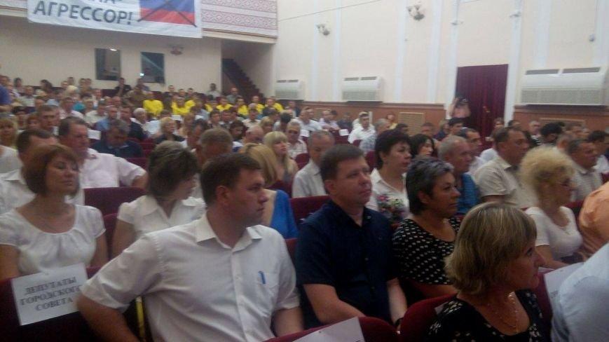 В  Мариуполе проходит  сессия городского совета (ФОТО), фото-1