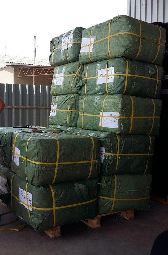 В Ужгороді вилучено контрабандного одягу на 1,5 мільйонів гривень: фото, фото-1