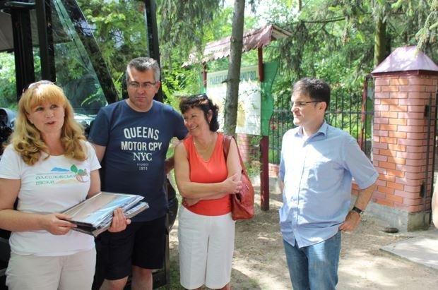 Национальный парк «Олешковские пески» посетили иностранцы (Фото), фото-1