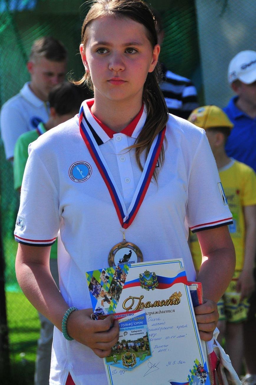 Юные игроки в гольф с Сахалина стали призёрами первенства в Приморье, фото-3