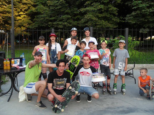В скейт-парке Бахмута прошли соревнования и показательные выступления, фото-4