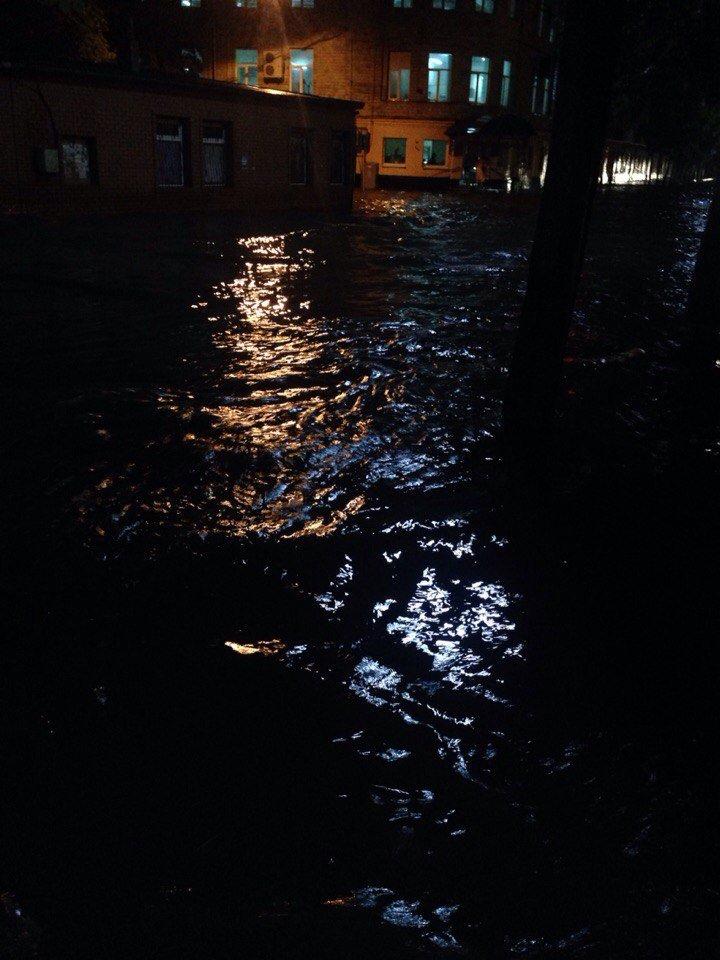 Потерянные госномера, затопленные улицы: последствия ливня в Харькове (ФОТО, ВИДЕО), фото-2