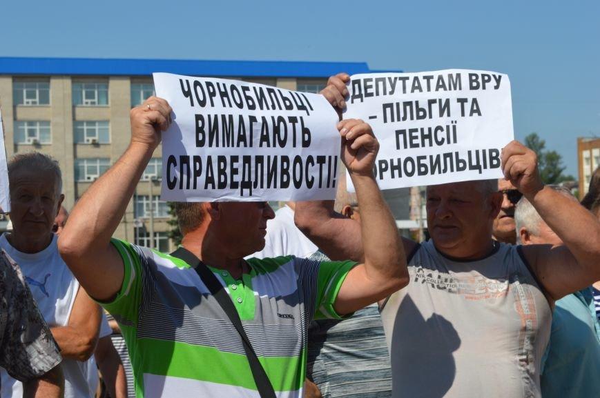 В Северодонецке чернобыльцы требовали соблюдения своих прав (ФОТО), фото-5