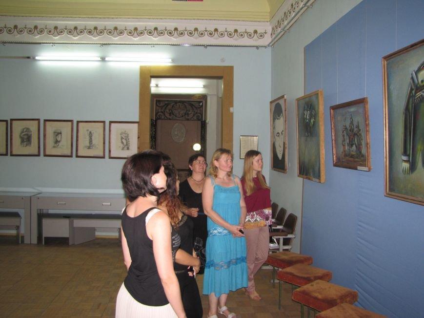 В Мелитополе посетителям музея показали «Детские фантазии взрослого гения», фото-1