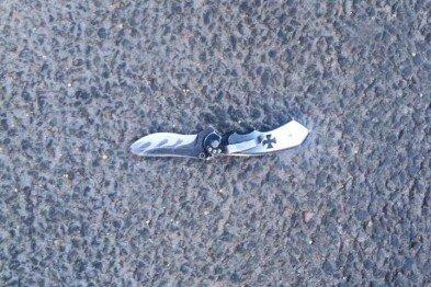 В Харькове пьяный мужчина с ножом цеплялся к прохожим (ФОТО), фото-2