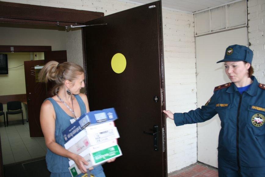 МЧС эвакуировало людей в Троицком отделе социальной защиты, фото-2