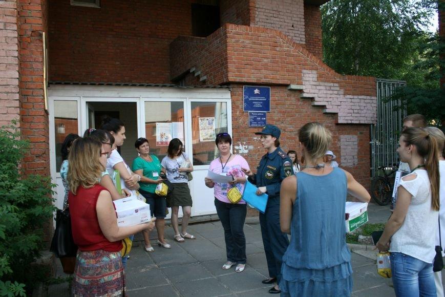 МЧС эвакуировало людей в Троицком отделе социальной защиты, фото-5